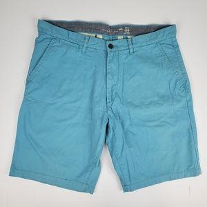 H&M Turquoise Chino Shorts